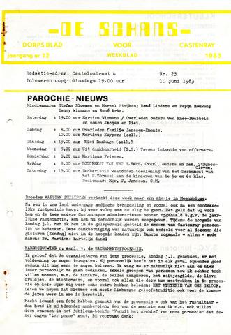 Castenrays dorpsblad De Schans 1983-06-10