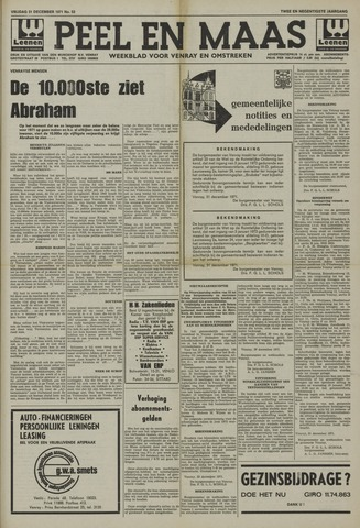 Peel en Maas 1971-12-31