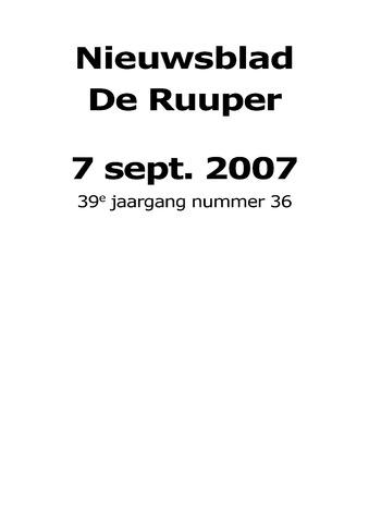 Dorpsblad Leunen-Veulen-Heide 2007-09-07