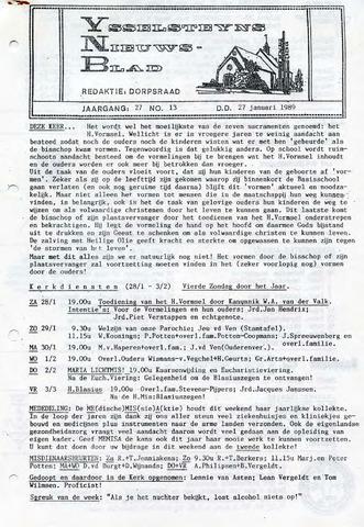 Ysselsteyns Nieuwsblad 1989-01-27