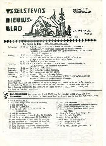 Ysselsteyns Nieuwsblad 1984-05-04