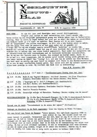 Ysselsteyns Nieuwsblad 1990-08-31