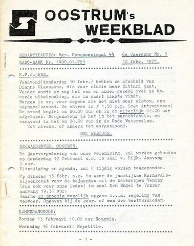 Oostrum's Weekblad 1977-02-10