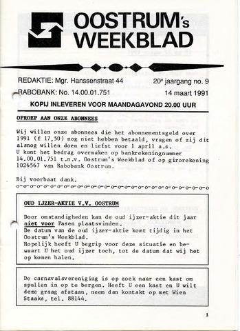 Oostrum's Weekblad 1991-03-14