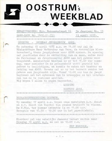 Oostrum's Weekblad 1978-04-13
