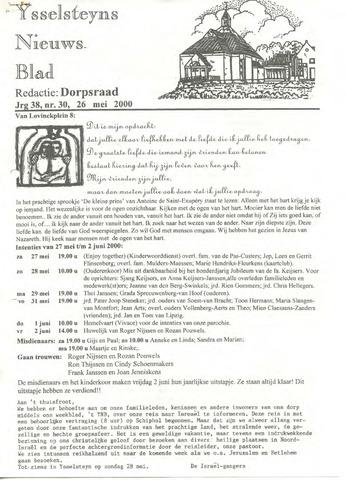 Ysselsteyns Nieuwsblad 2000-05-26
