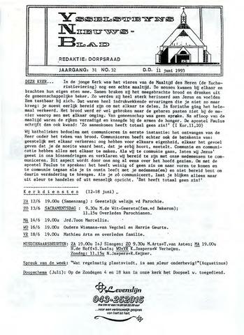 Ysselsteyns Nieuwsblad 1993-06-11