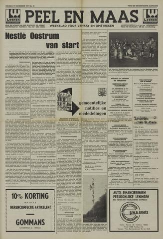 Peel en Maas 1971-11-12