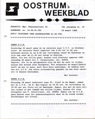 Oostrum's Weekblad 1983-03-10