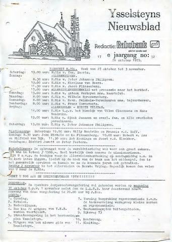Ysselsteyns Nieuwsblad 1979-10-26