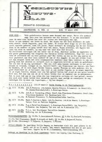 Ysselsteyns Nieuwsblad 1993-03-12