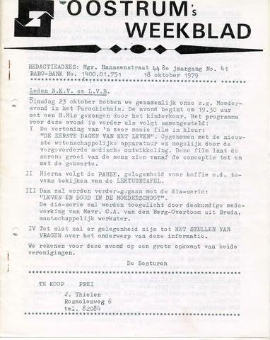Oostrum's Weekblad 1979-10-18