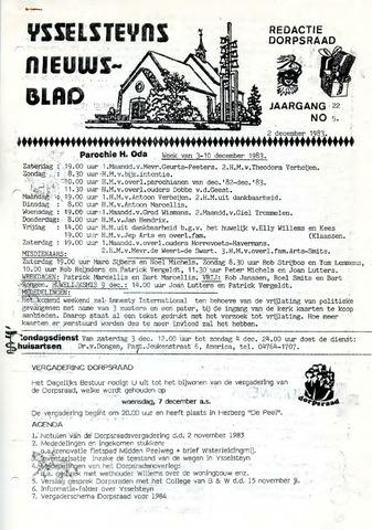 Ysselsteyns Nieuwsblad 1983-12-02
