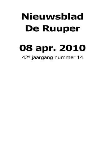 Dorpsblad Leunen-Veulen-Heide 2010-04-08