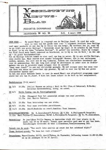 Ysselsteyns Nieuwsblad 1988-03-04
