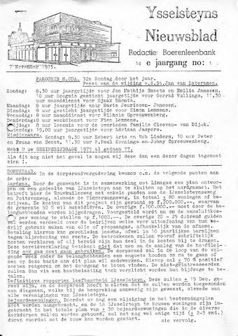 Ysselsteyns Nieuwsblad 1975-11-07