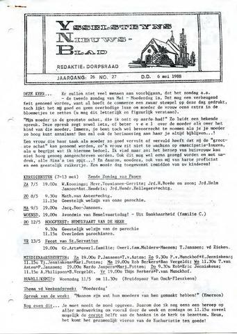 Ysselsteyns Nieuwsblad 1988-05-06