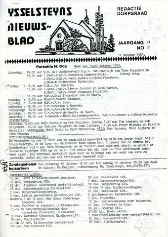Ysselsteyns Nieuwsblad 1983-10-14