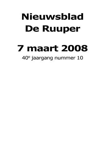 Dorpsblad Leunen-Veulen-Heide 2008-03-07
