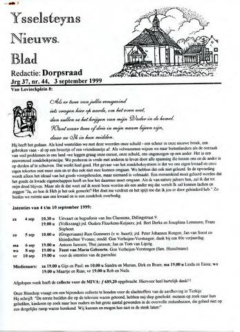 Ysselsteyns Nieuwsblad 1999-09-03