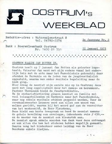 Oostrum's Weekblad 1973-01-12
