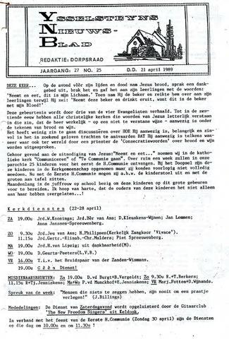 Ysselsteyns Nieuwsblad 1989-04-21