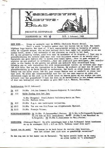 Ysselsteyns Nieuwsblad 1988-02-05