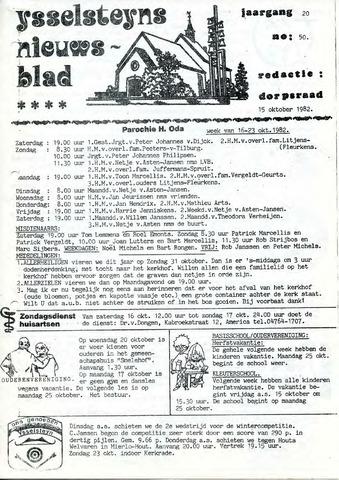 Ysselsteyns Nieuwsblad 1982-10-15
