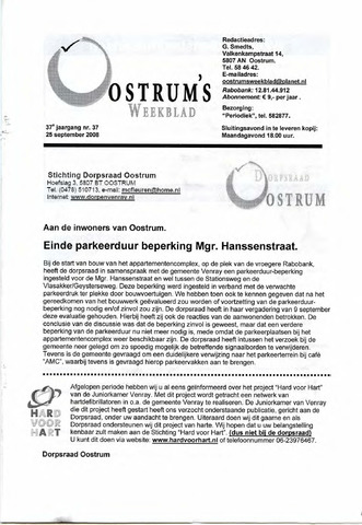 Oostrum's Weekblad 2008-09-25