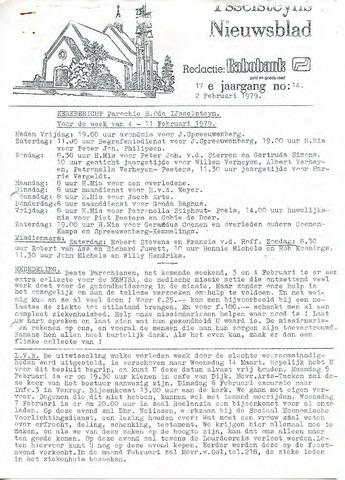 Ysselsteyns Nieuwsblad 1979-02-02