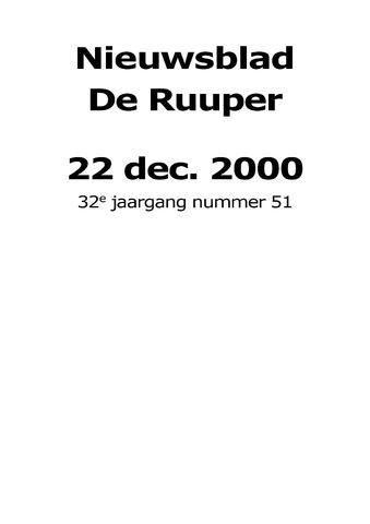 Dorpsblad Leunen-Veulen-Heide 2000-12-22