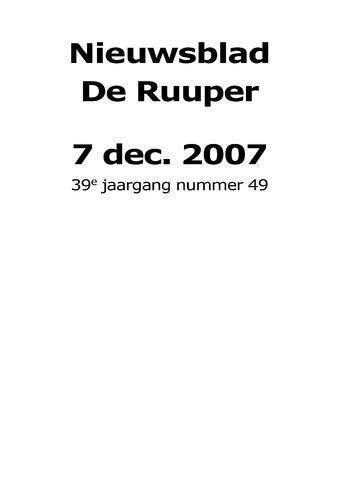 Dorpsblad Leunen-Veulen-Heide 2007-12-07