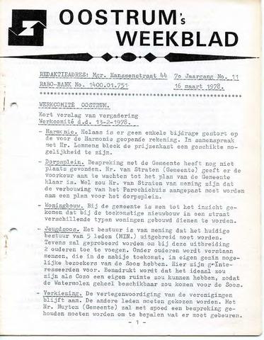 Oostrum's Weekblad 1978-03-16