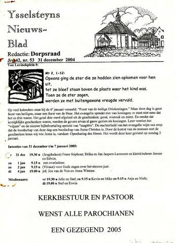Ysselsteyns Nieuwsblad 2004-12-31