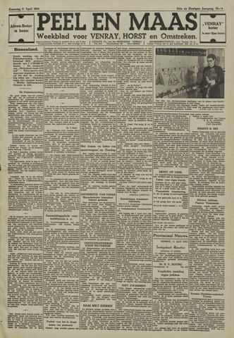 Peel en Maas 1942-04-11