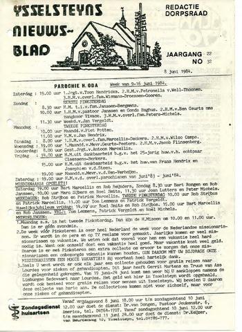 Ysselsteyns Nieuwsblad 1984-06-08