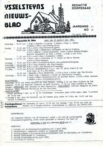 Ysselsteyns Nieuwsblad 1983-04-29