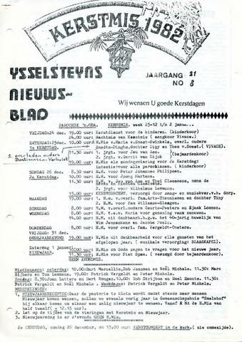 Ysselsteyns Nieuwsblad 1982-12-25