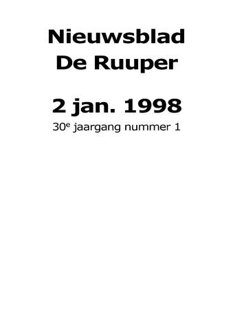 Dorpsblad Leunen-Veulen-Heide 1998