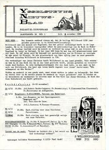 Ysselsteyns Nieuwsblad 1989-11-03