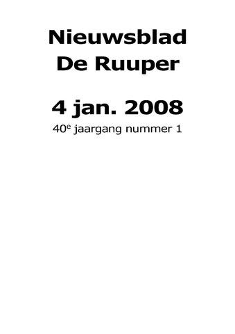 Dorpsblad Leunen-Veulen-Heide 2008-01-04