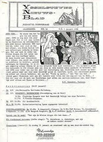 Ysselsteyns Nieuwsblad 1990-01-05