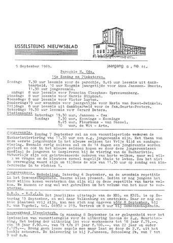Ysselsteyns Nieuwsblad 1969-09-05