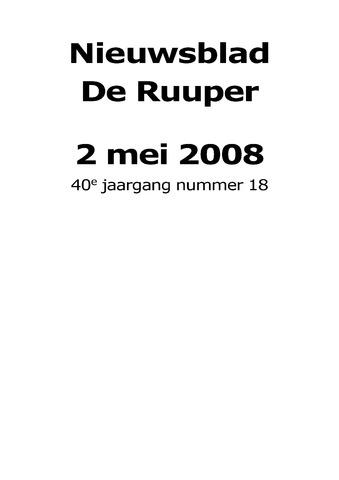 Dorpsblad Leunen-Veulen-Heide 2008-05-02
