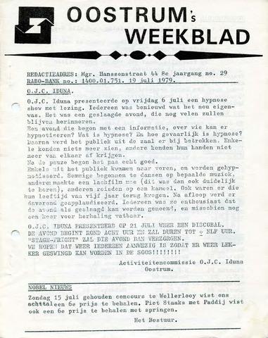 Oostrum's Weekblad 1979-07-19