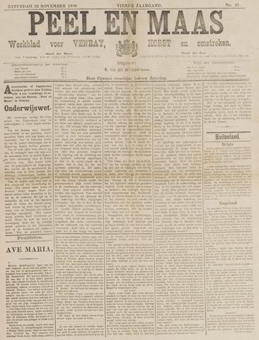 Peel en Maas 1889-11-23