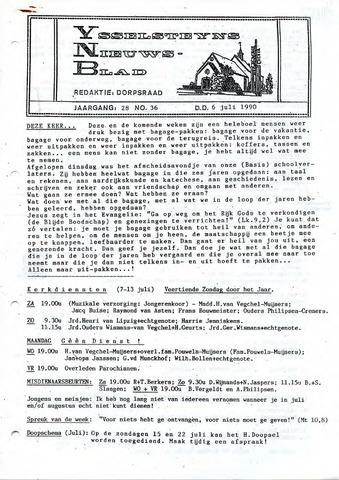 Ysselsteyns Nieuwsblad 1990-07-06