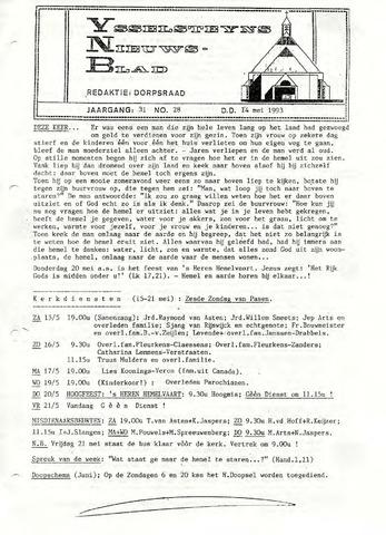 Ysselsteyns Nieuwsblad 1993-05-14