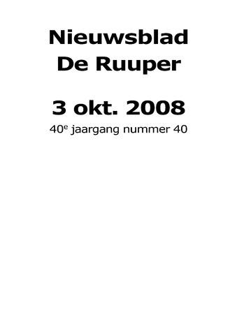 Dorpsblad Leunen-Veulen-Heide 2008-10-03