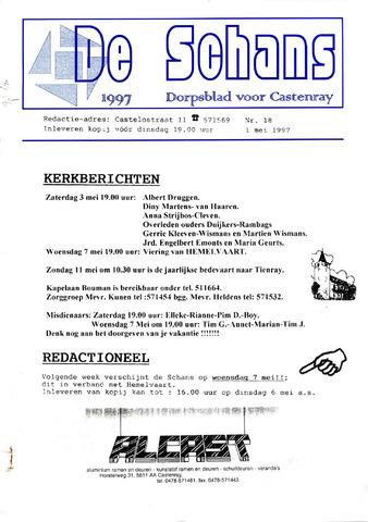 Castenrays dorpsblad De Schans 1997-05-01
